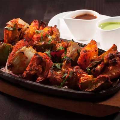 Indian restaurant food